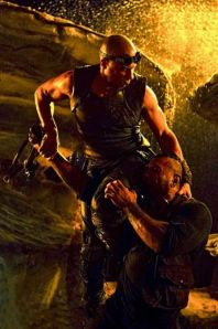 riddick in action