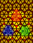 triforce stained-glass