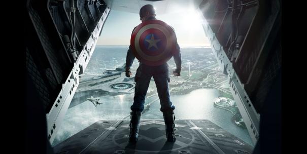Captain America 2 onesheet